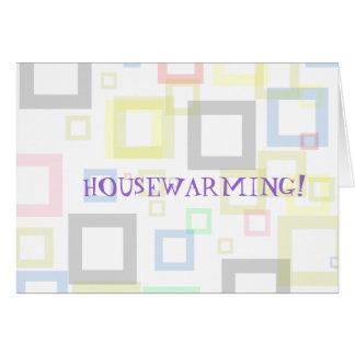 HOUSEWARMING, Blank Invitation Greeting Card