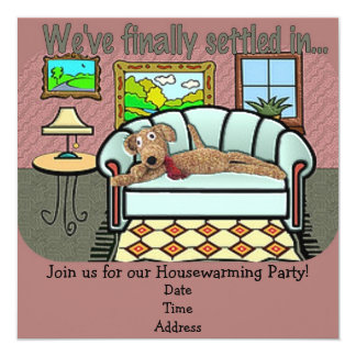 Housewarming Invitation or Announcement