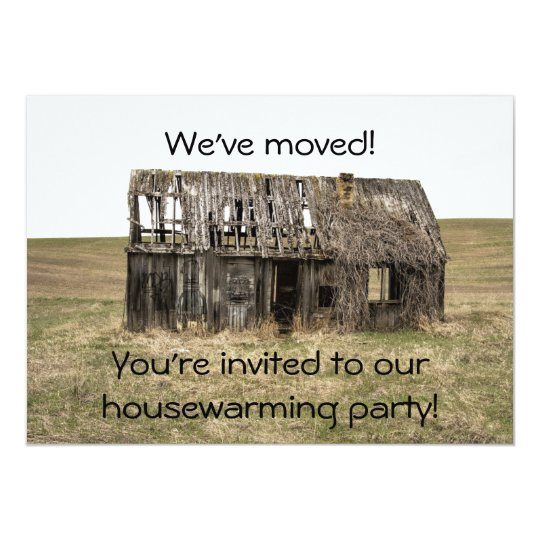 Housewarming New Home/Address Party Invitation