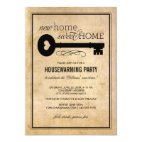 Housewarming Party | New Home Sweet Home Card