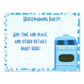 Housewarming Party Time 11 Cm X 14 Cm Invitation Card