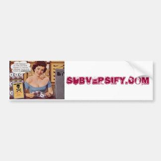 Housewife Bumper Sticker