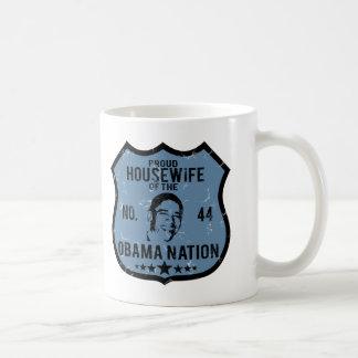 Housewife Obama Nation Basic White Mug