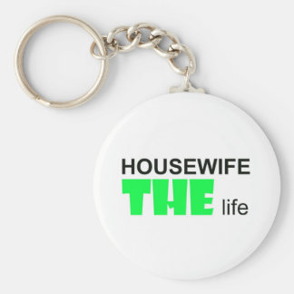 Housewife - THE Live Basic Round Button Key Ring