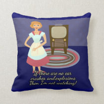 Housewives Love Movies Cushion