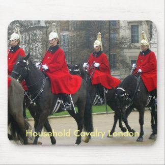 Houshold Cavalry London Mouse Pad