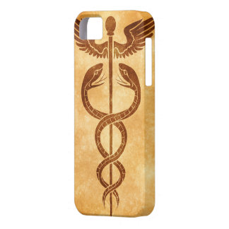 Housing for iPhone with caduceo of Mercury Barely There iPhone 5 Case