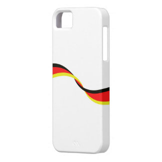 Housing for mobile with German flag Case For The iPhone 5