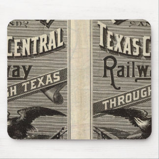 Houston and Texas Central Railway through Texas 2 Mouse Mat