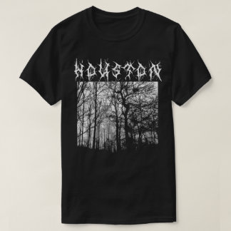 Houston Black Metal T-shirt Metalshirt
