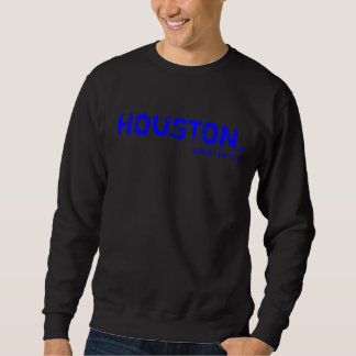 HOUSTON (BLUE) PULL OVER SWEATSHIRT
