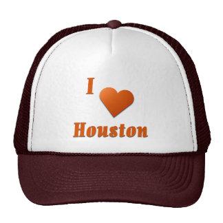 Houston  -- Burnt Orange Trucker Hat