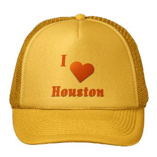 Houston  -- Burnt Orange Mesh Hat