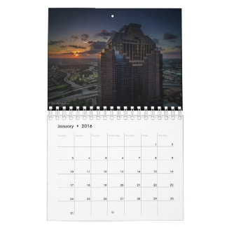 Houston Calendar 2016 by EstatesPhotography.com