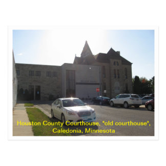 "Houston County Courthouse ""old court house"" Postcard"