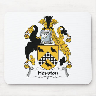 Houston Family Crest Mouse Mat
