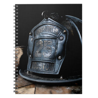 Houston Fire Fighter Notebook