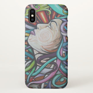 Houston Gal Graffiti iPhone X Case