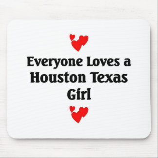 Houston girl mousepads