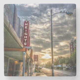 Houston Heights 19th Street Stone Coaster