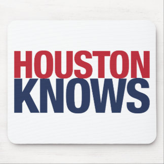 Houston Knows Mouse Pad