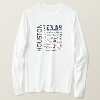 Houston Long Sleeve Unisex Tee