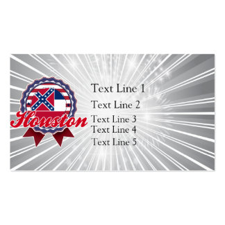 Houston, MS Business Card Templates