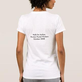 Houston Postal Workers Walk for Autism Tshirts