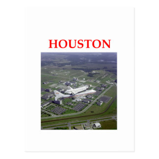 houston postcard