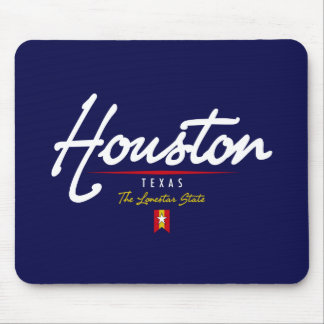 Houston Script Mouse Pad