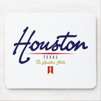 Houston Script Mouse Pad