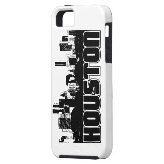 Houston Skyline iPhone 5 Cover