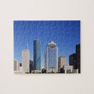 Houston Skyline Jigsaw Puzzle