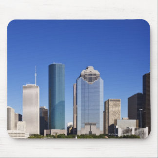 Houston Skyline Mouse Mat