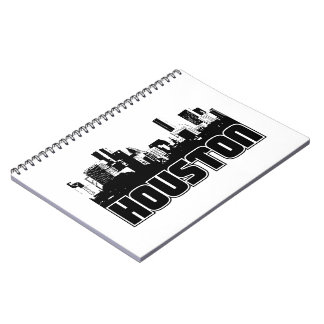 Houston Skyline Notebook