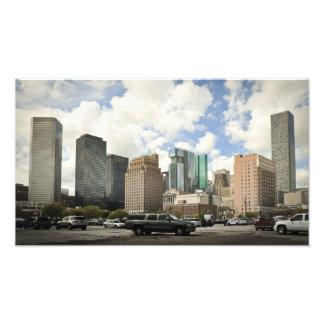 Houston Skyline Photo Print