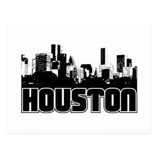 Houston Skyline Postcard