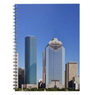 Houston Skyline Spiral Notebook