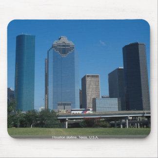 Houston skyline, Texas, U.S.A. Mouse Pad