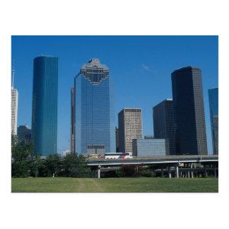Houston skyline, Texas, U.S.A. Postcard