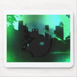 Houston Skyline- West Mousepads
