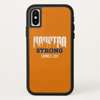 Houston Strong Distressed Look iPhone X Case