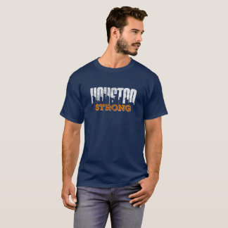 Houston Strong Distressed Look T-Shirt