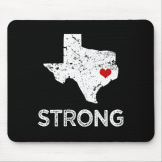 Houston Strong, Hurricane Harvey saying mouse pad
