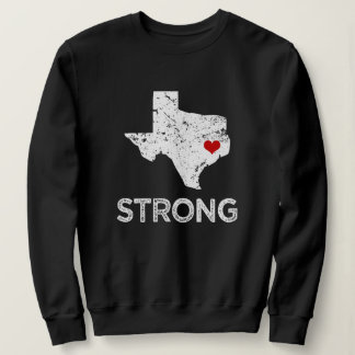 Houston Strong Texas saying Love womens sweater