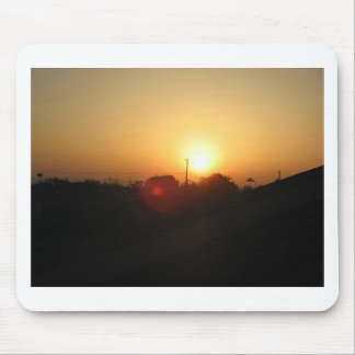 houston sunrise mouse pad