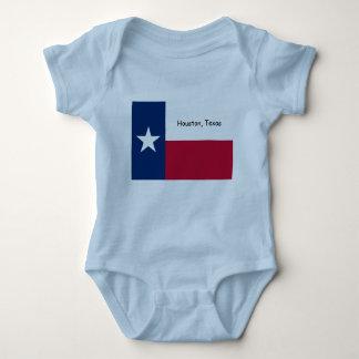 Houston, Texas baby bodysuit, sleeper Baby Bodysuit