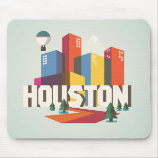 Houston, Texas | Cityscape Design Mouse Mat