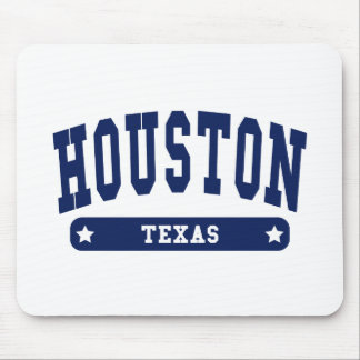 Houston Texas College Style tee shirts Mouse Pad