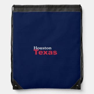 Houston, Texas Drawstring Backpack